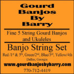 New banjostring set label